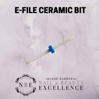 Efile ceramic bit